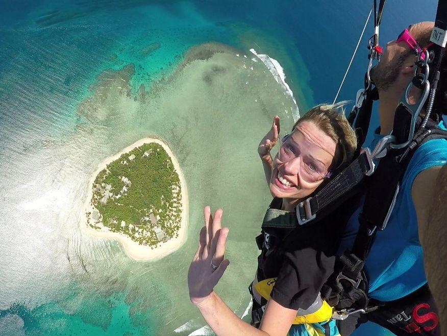 Tandem Skydive - Free Fall Fiji