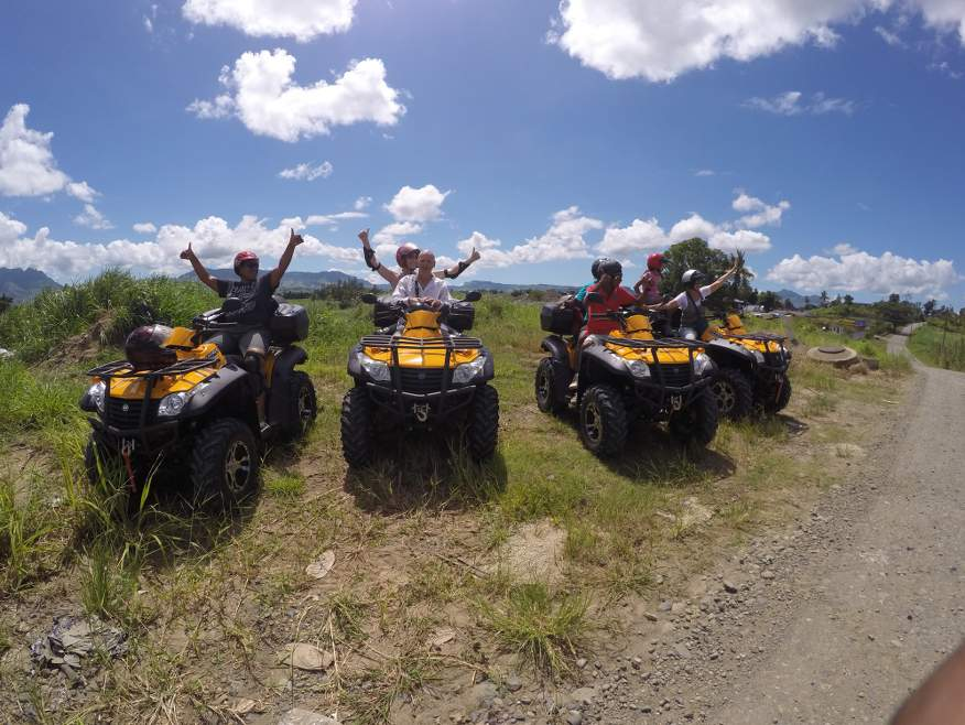 """Mud Smoothie"" 4x4 Quad Bike Trip to Sabeto Hot Spring Mud Pools - SAVE $20"