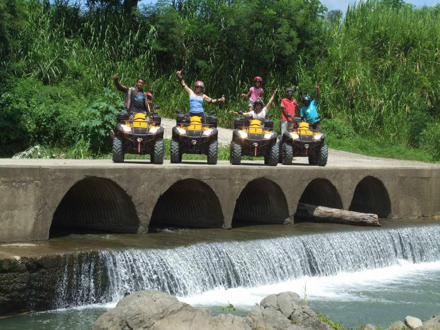 """Play Dirty"" 4x4 Quad Bike Tour to Nausori Highlands - save $10"