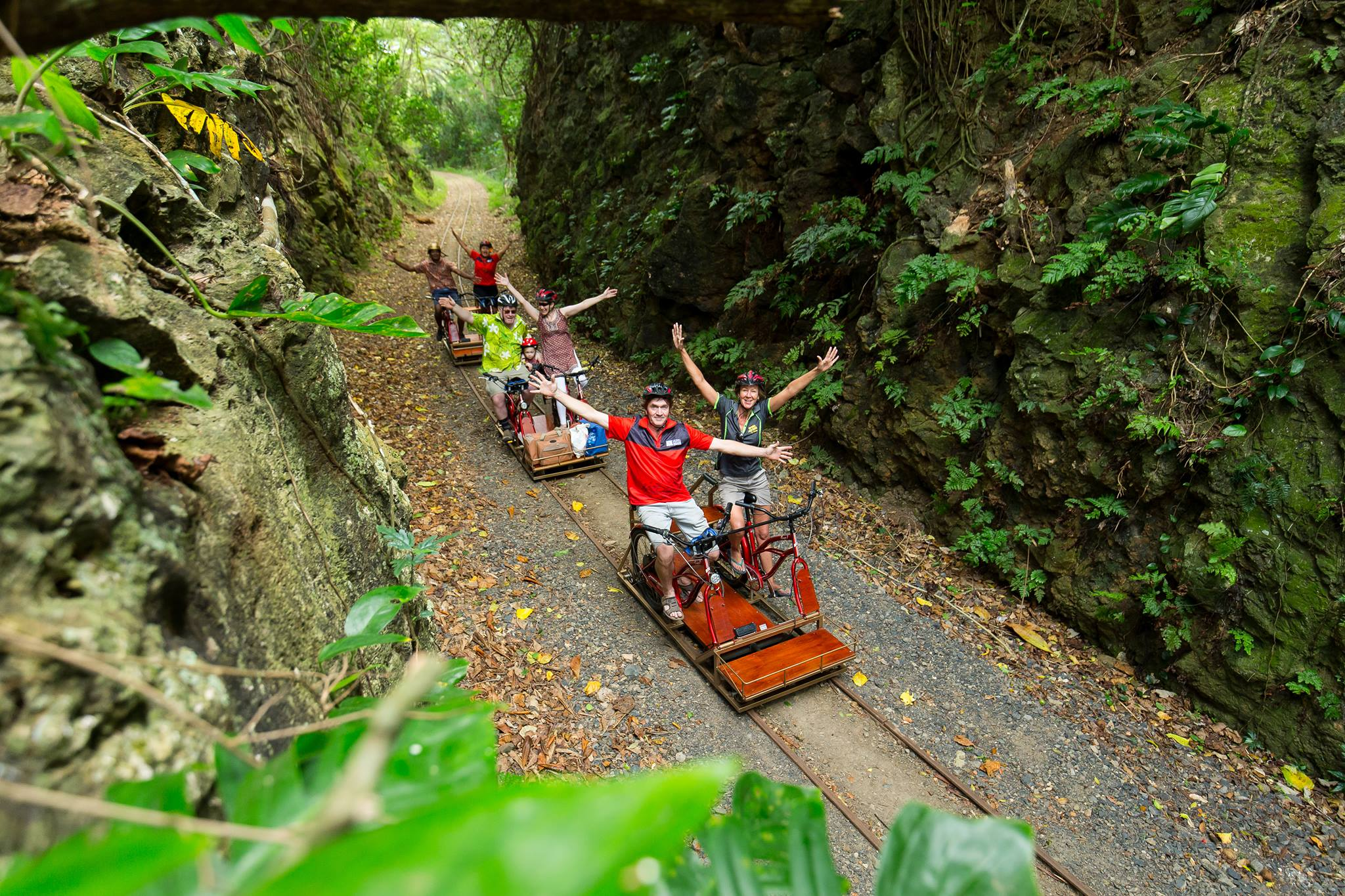 Electric Rail-Riders Tour - Ecotrax Sigatoka