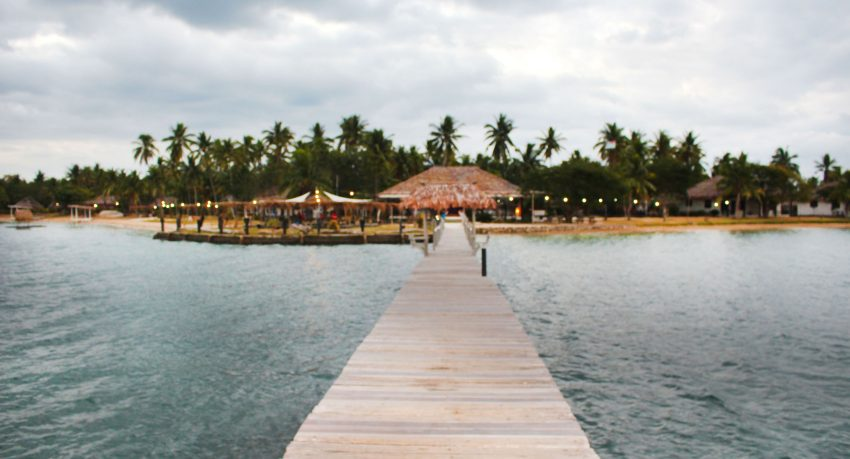 Belo Vula Resort Jetty Evening